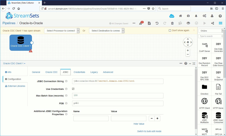 JDBC Configuration