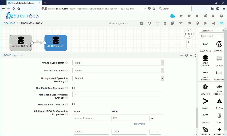 MySQL JDBC configuration