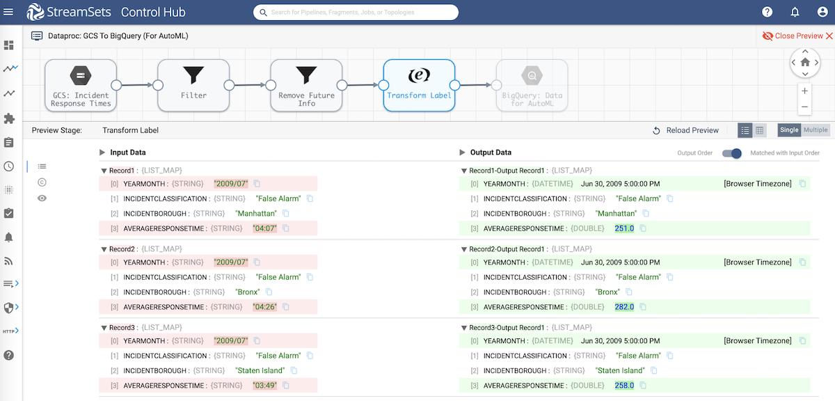Load data into Google BigQuery